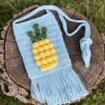 Pumpkin Wine Glass Cozy Crochet Pattern